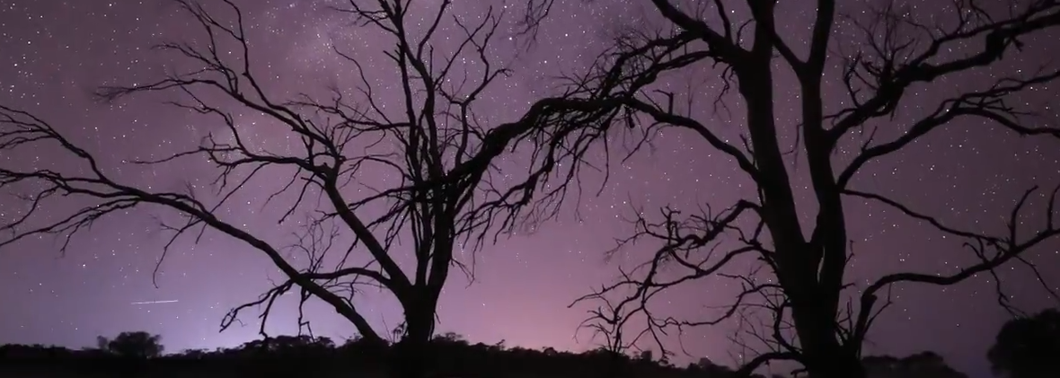 Astrophotography Time Lapse