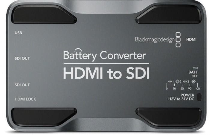 BATTERY CONVERTER HDMI A SDI BLACKMAGIC DESIGN