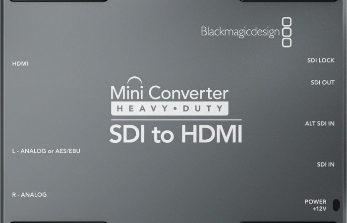 BATTERY CONVERTER SDI A HDMI BLACKMAGIC DESIGN