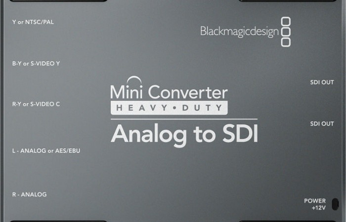 MINI CONVERTER ANALÓGICO A SDI BLACKMAGIC DESIGN