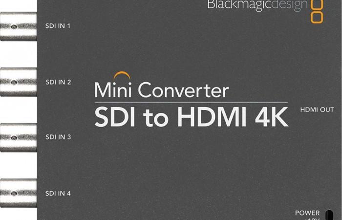 MINI CONVERTER SDI A HDMI 4K BLACKMAGIC DESIGN