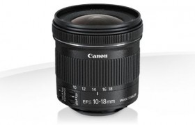 EF-S 10-18 F/4.5-5.6 IS CANON