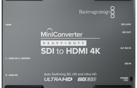 MINI CONVERTER HEAVY DUTY SDI A HDMI 4K BLACKMAGIC DESIGN