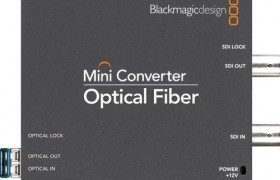 MINI CONVERTER OPTICAL FIBRE BLACKMAGIC DESIGN