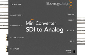 MINI CONVERTER SDI A ANALÓGICO BLACKMAGIC DESIGN