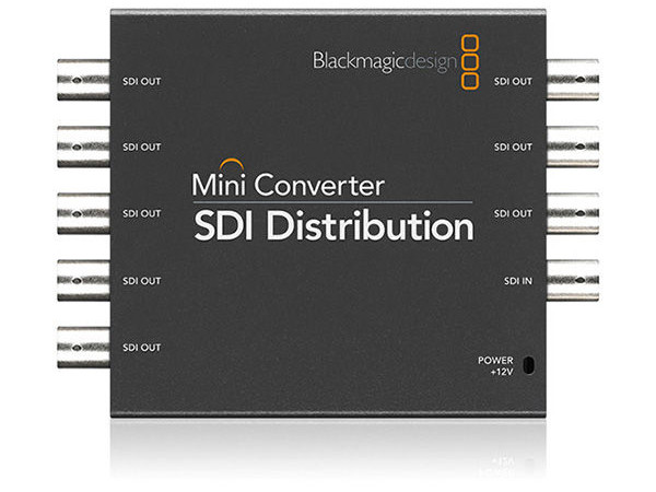 MINI CONVERTER SDI DISTRIBUTION BLACKMAGIC DESIGN