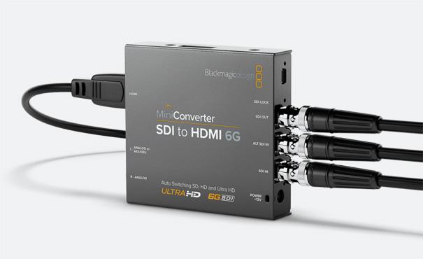 MINI CONVERTER SDI A HDMI 6G BLACKMAGIC DESIGN