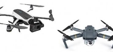 COMPARATIVA DE DRONES DJI MAVIC PRO VS GOPRO KARMA: ¿QUIÉN GANA?