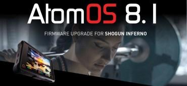 FIRMWARE 8.1 ATOMOS SHOGUN INFERNO: SLOW MOTION 2K/RAW EN SONY FS