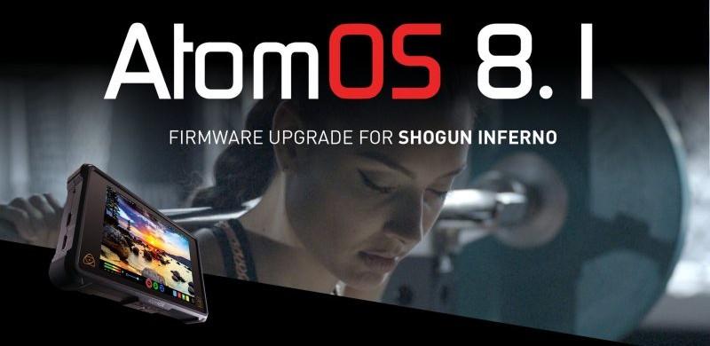 FIRMWARE 8.1 ATOMOS SHOGUN INFERNO