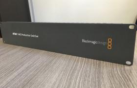 ATEM 1 M/E PRODUCTION STUDIO BLACKMAGIC DESIGN SEGUNDA MANO