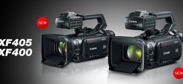 CANON XF400 Y XF405: NUEVAS CÁMARAS 4K COMPACTAS CON VELOCIDAD LENTA