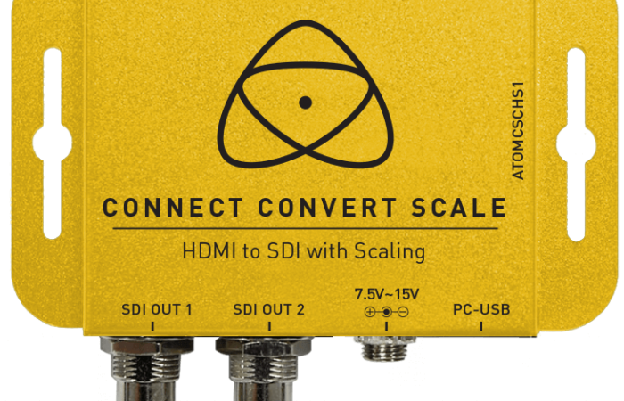 CONNECT CONVERT SCALE HDMI A SDI ATOMOS