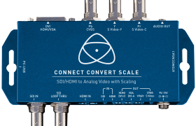 CONNECT CONVERT SCALE SDI/HDMI A ANALÓGICO ATOMOS