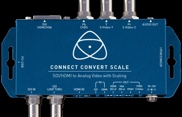 CONNECT CONVERT SCALE SDI/HDMI A ANALÓGICO ATOMOS