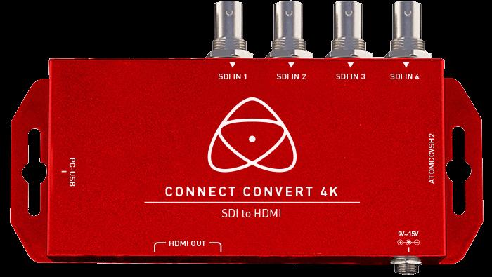 CONNECT CONVERT 4K SDI A HDMI ATOMOS