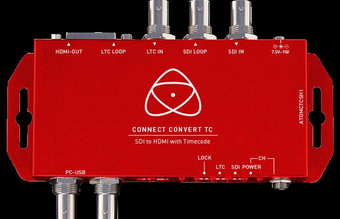 CONNECT CONVERT TC SDI A HDMI ATOMOS