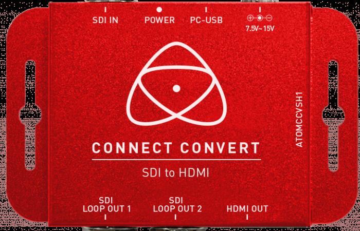 CONNECT CONVERT HDMI A SDI ATOMOS
