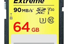 TARJETA MEMORIA SD 64GB EXTREME SANDISK