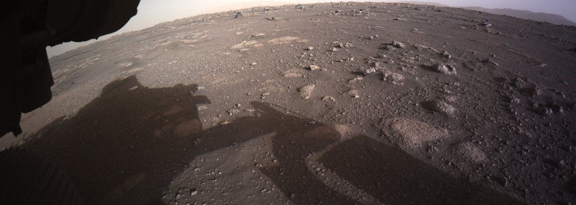 Las Cámaras Del Rover Perseverance En Marte