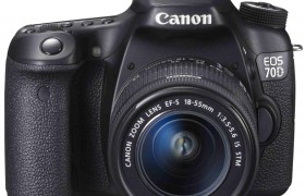 EOS 70D + EF-S 18-55 IS STM CANON