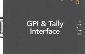 GPI AND TALLY INTERFACE BLACKMAGIC DESIGN