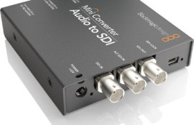 MINI CONVERTER AUDIO A SDI BLACKMAGIC DESIGN ALQUILER