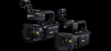 CANON ANUNCIA SUS NUEVAS CÁMARAS 4K XA40, XA45, XA50 Y XA55