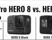 DIFERENCIAS HERO 8 VS HERO 7 BLACK