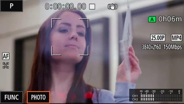Dual Pixel CMOS AF rápido y preciso