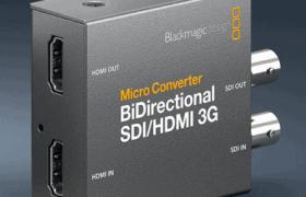 MICRO CONVERTER BIDIRECTIONAL 3G SDI/HDMI WPSU BLACKMAGIC DESIGN