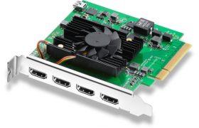 DECKLINK QUAD HDMI RECORDER BLACKMAGIC DESIGN