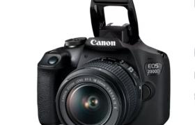 CANON EOS 2000D + EF-S 18-55 DC