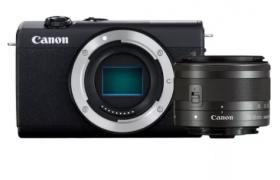 CANON EOS M200 (COLOR NEGRO) + OBJETIVO EF-M 15-45 S
