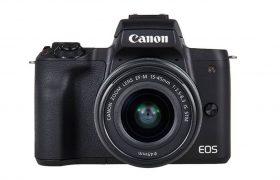 CANON EOS M50 (COLOR NEGRO)+ OBJETIVO EF-M 15-45 S