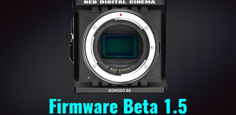 FIRMWARE RED KOMODO